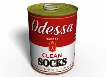 Canned Clean Socks Odessa - Оригинальный Подарок Из Одессы - Морской Сувенир