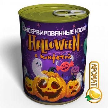 Консервированные Носки Halloween С Конфетой - Праздничные Носки Halloween