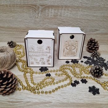 Коробочка для консервированных подарков