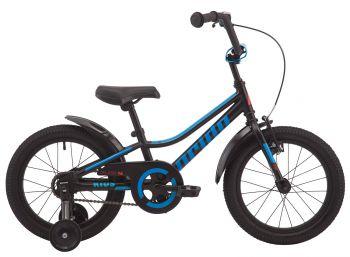 """Детский велосипед  16"""" Pride Flash черный"""